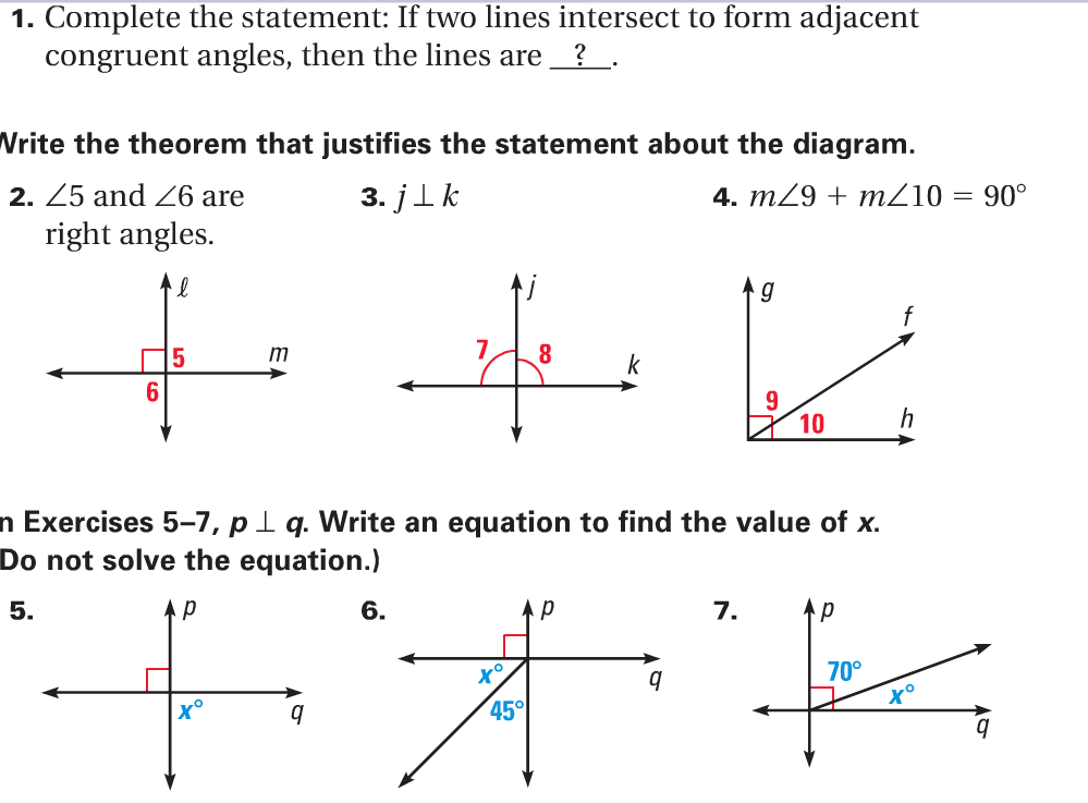 Printables Angle Pairs Worksheet practical geometry wednesday angle pairs parallel lines ixl d 4 80 thursday chapter 3 worksheet friday review quiz